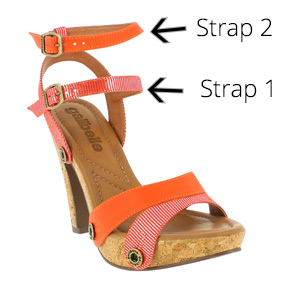 deise cork shoes straps