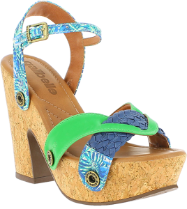 sara cork sole interchangeable strap