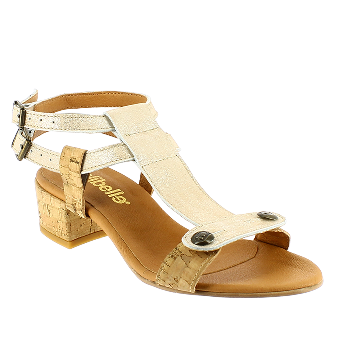 Danni Atanado orange interchangeable sandal straps